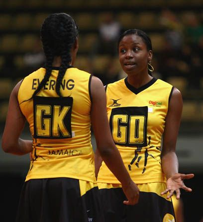 Jamaica's Netball Team