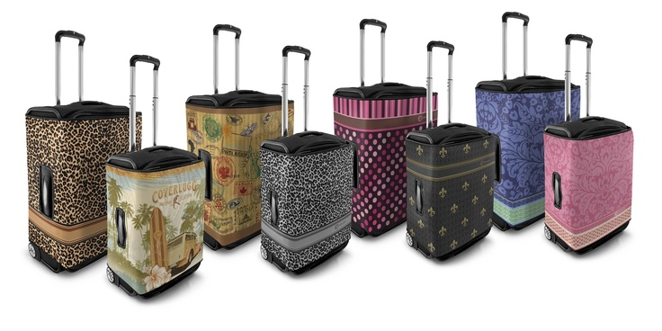Luggage covers by Coverlugg