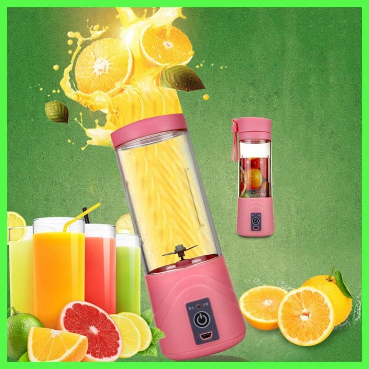 400ML Portable Fruit Juicer Bottle USB Electric Juicer Bottles Handheld Milkshake Smoothie Maker Rechargeable Juice Blender