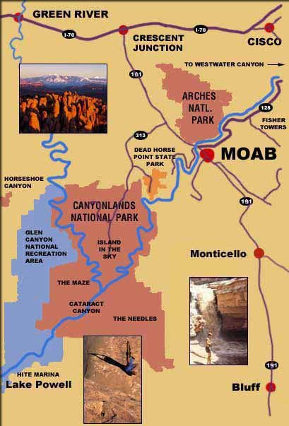 Hoping to get to Moab, Utah and see the area around it since it's unlike anything I've experienced before.