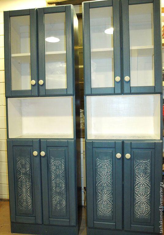 """Купить Шкафы для ванной """"Морская пена"""" - мебель для дома, авторская мебель, оформление мебели"""
