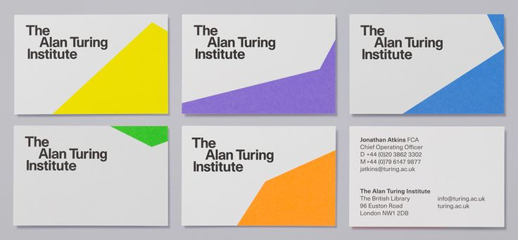 New Logo and Identity for The Alan Turing Institute by Red&White