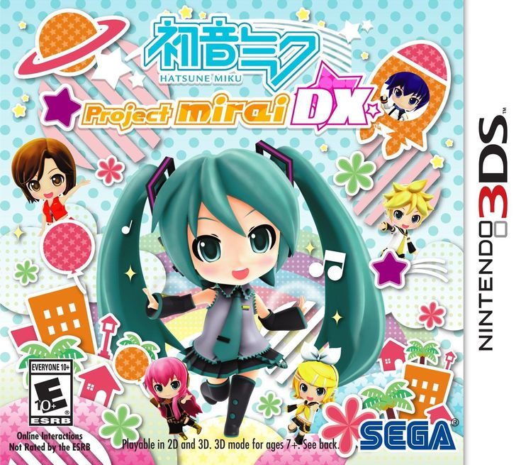 Hatsune Miku Project Mirai DX Nintendo 3DS GameStop
