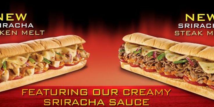 Subway's Sriracha Sauce Goes National