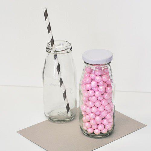 Non-Personalized Milk Jars