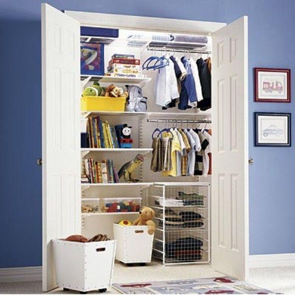 25 Ideas To Organize Kids Closets | Kidsomania