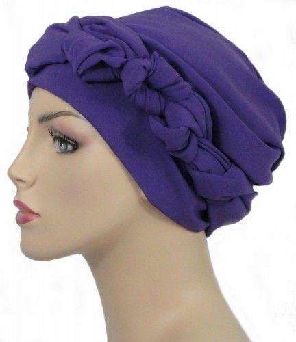 Head Wrap Turban Denim Blues, Hat for Cancer Patient, Head Scarf   TurbanDiva - Accessories on ArtFire