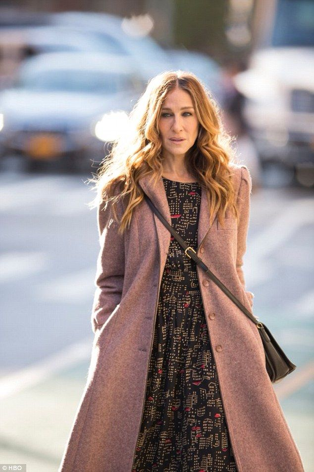 New looks: Sarah Jessica similarly claims that her character Frances in the upcoming HBO s...