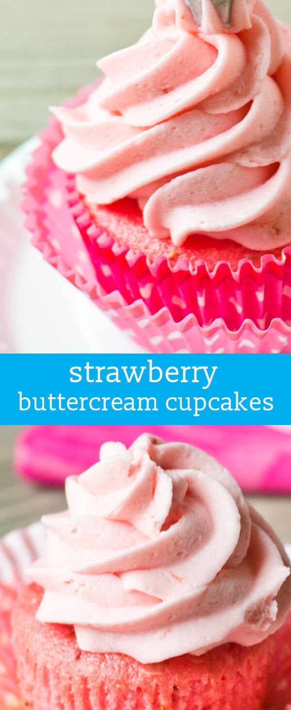 Recipe For Strawberry Cupcakes Using Cake Mix