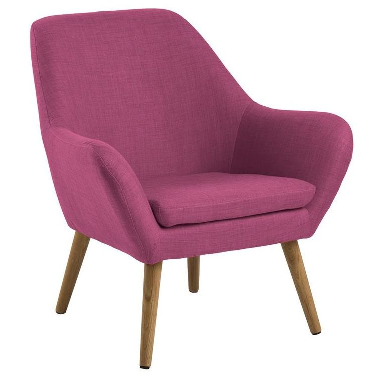 Adele fauteuil paars - Robin Design