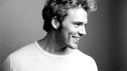 He is so pretty. B e c a u s e he is Sam Claflin✌️✌️✌️✌️✌️