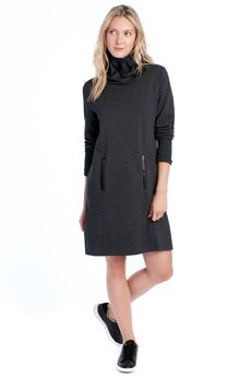 Lolё GRAY DRESS - Dresses - Bottoms - All Products - Shop at lolewomen.com