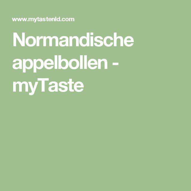 Normandische appelbollen - myTaste