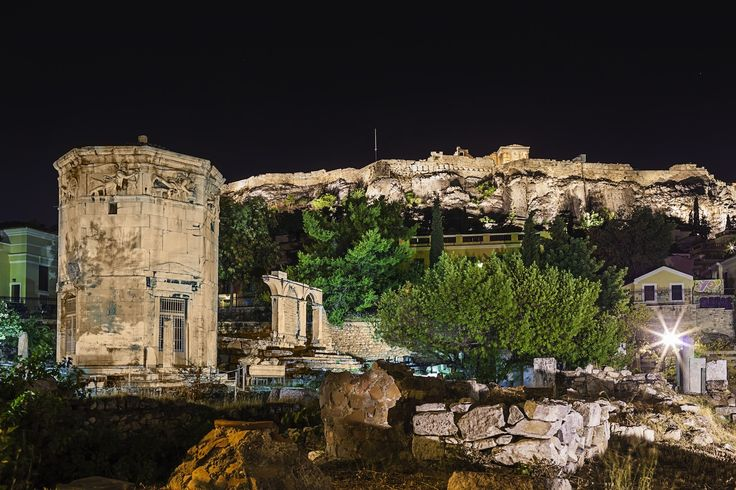 Archeological site in Athens city center