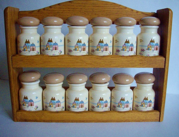 134 Best Vintage Spice Racks Images On Pinterest Vintage
