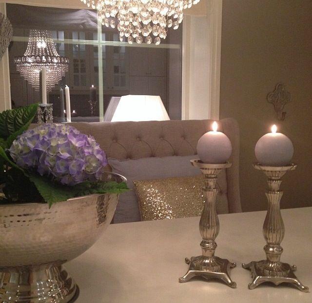 Kitchen table decoration