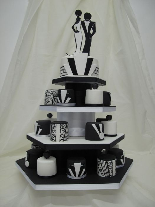 38 best images about Art Deco Cakes on Pinterest Wedding ...