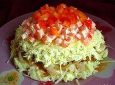 """В субботу и """"субботний"""" салат. Рецепт салата легкий и простой и относится к картофельным салатам, так как основной продукт в нем - картофель. Его можно готовить в любой сезон года, так как продукты д…"""