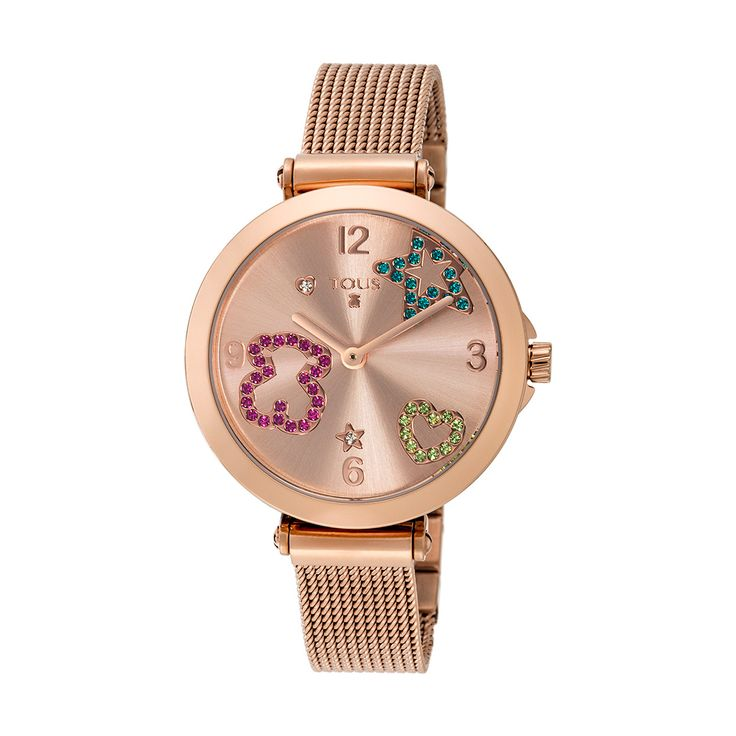 600350390 - Tous Icon Mesh Rose Gold