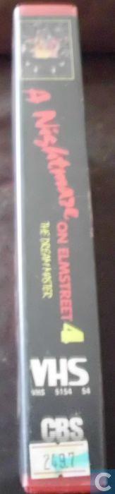 A NIGHTMARE on ELM STREET 4 (1988), PAL VHS, CBS/FOX VIDEO, FOXVIDEO, NEDERLAND, reizen, the E.U., fashion week, Kristen PFAFF, Kathleen HANNA, Au Revoir Simone, #natalieoffduty, Natalie off Duty, Natalie LIM SUAREZ, Natalie SUAREZ, nostalgie, feminisme, alternatief meisjes, indie scene style, alternative girls, riot girl, girl gang, hippie boho, straight bangs, vampieren, zigeunermeisjes, fashion model poses, fashion bloggers, Rush Week (1989), auburn hair, hipster goth, bedhead, #gamergate