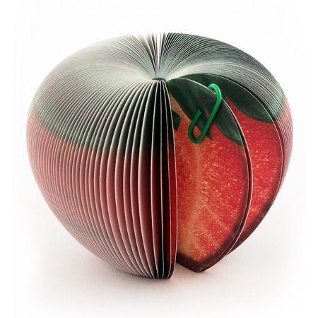 Блокнот раскладушка Клубника - Офисные мелочи - Интернет-магазин подарков Ваши Подарки