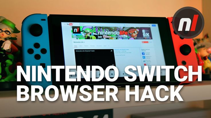 How to Watch YouTube on the Nintendo Switch | Nintendo Switch Browser Hack - YouTube