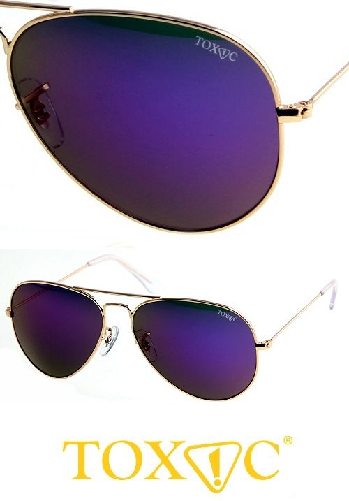 Sexy purple aviator sunglasses available now on StayAmazing.com. Suitable for men and women