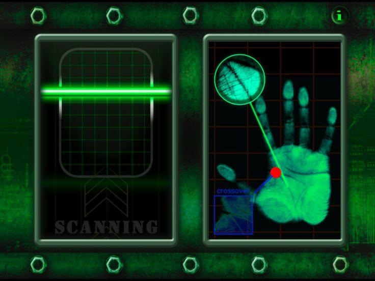 scan fingerprint for agency d3
