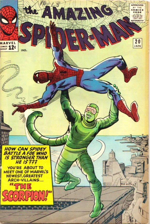 Amazing Spider-Man #20 comic book by Steve Ditko