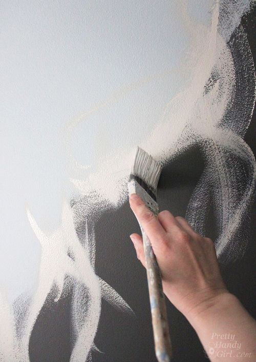 Neue Tapeten Wann Streichen : Ombre Wall Paint Technique