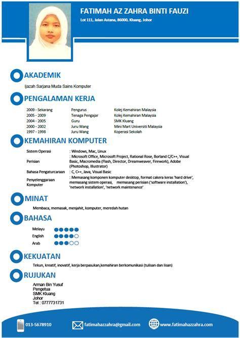 Contoh Surat Cv Dalam Bahasa Melayu Contoh Surat Cv Dalam Bahasa