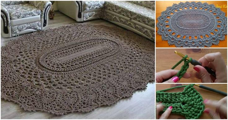 Every woman thinks how to decorate her home interior and made many thing with itself. Another beautiful thing we have here today for you. It's oval rug tha