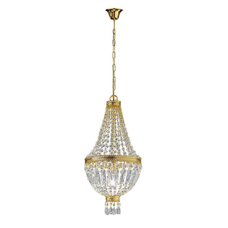 EEK A+, Pendelleuchte Cupola   Metall / Glas   Bronze Gold / Kristall    1 Flammig, Hans Kögl Jetzt Bestellen Unter: Https://moebel.ladendirekt.de/ Lampen/ ...