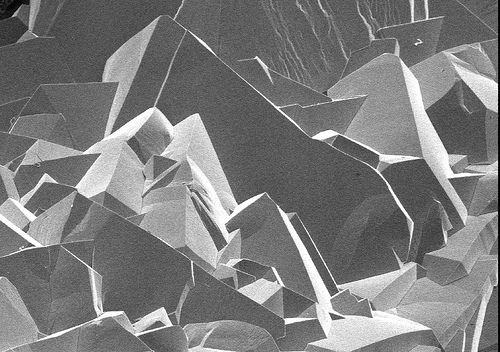 You may recall research scientist and microscopist Alan Jaras and his fantastic photos of light refracting through various textured objects. If not, you can refresh your memory here. I didn't notice this on my last trip to his Flickr profile but Jaras had access to a scanning electron microscope (SEM). Between 2005 and 2007, he …