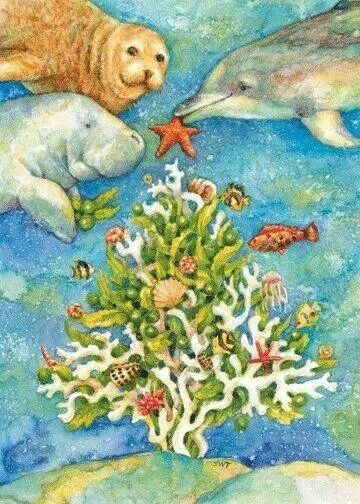 36 Best Christmas Under The Sea Images On Pinterest