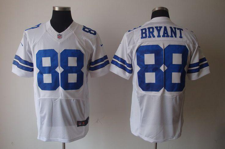 $25.00    Nike NFL Jerseys Dallas Cowboys Dez Bryant #88 White