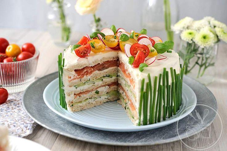 Sandwich Cake à base de pains suédois=spectaculaire !