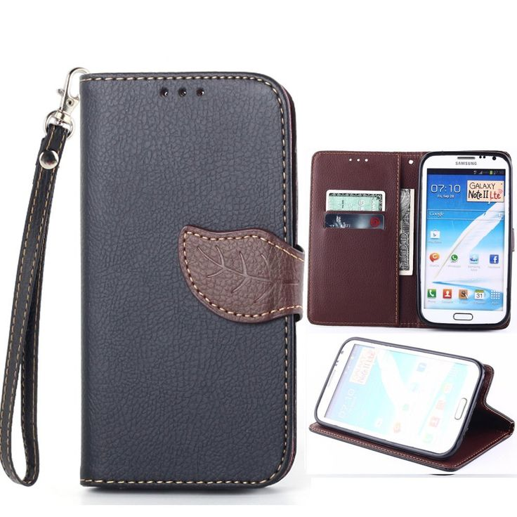 Note 2,Galaxy Note 2,Note 2 CasesGalaxy Note 2 Cases,Samsung Galaxy Note 2 Flip Cover,Kaseberry 0001 New Fashion Beautiful ID Card PU leathe Case and Wallet Design for Samsung Galaxy Note 2 II,Black * See this great product.