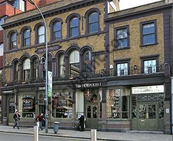 The Hop Poles, King Street, Hammersmith My first pub job - 1996