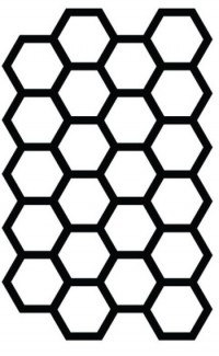 honeycomb Studio Calico mask