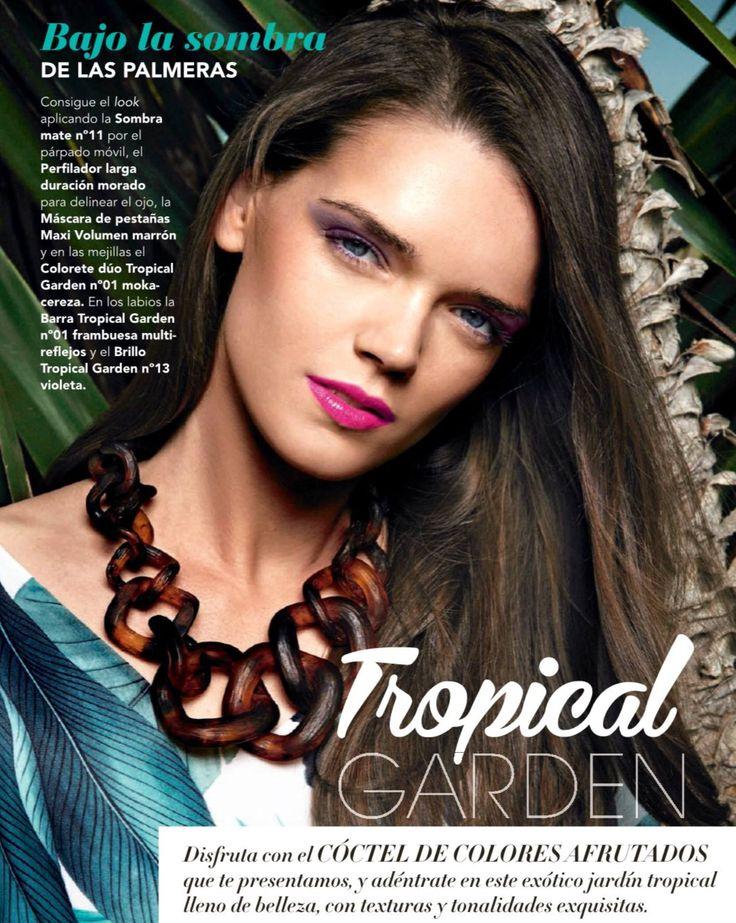 Model Isabella Andersson  La Perfumeria de Mercadona consejosmercadona.es