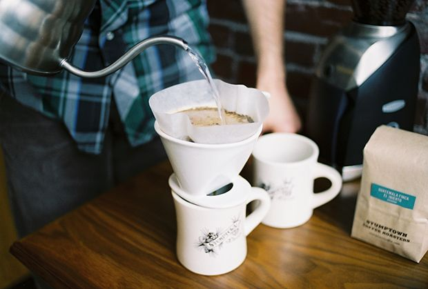 Stumptown Coffee Roasters | Bee House/Melitta Filter Pour Over Brew Guide
