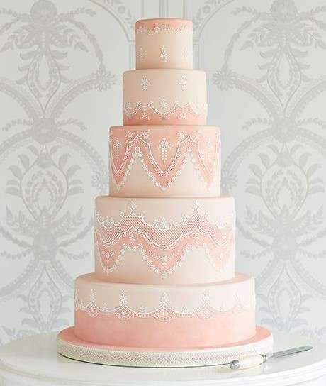 Torte nuziali rosa, le proposte più belle  (Foto 13/40) | PourFemme