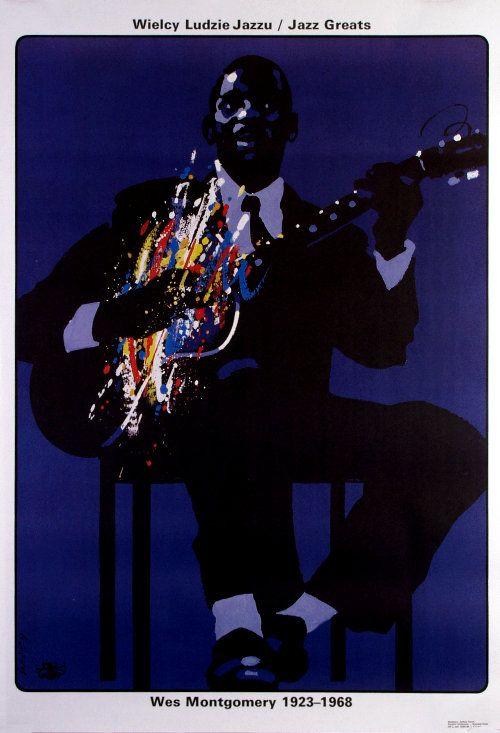 Wes Montgomery, Polish Jazz Poster