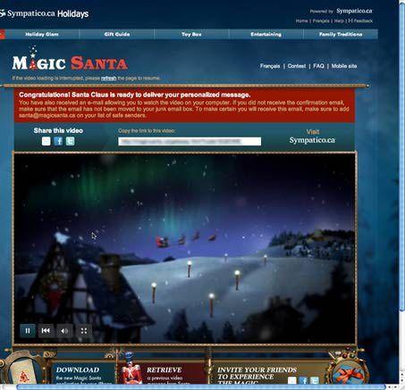 Cómo enviar un mensaje de Santa Claus a tus hijos o familiares: Puedes ver el vídeo ahora
