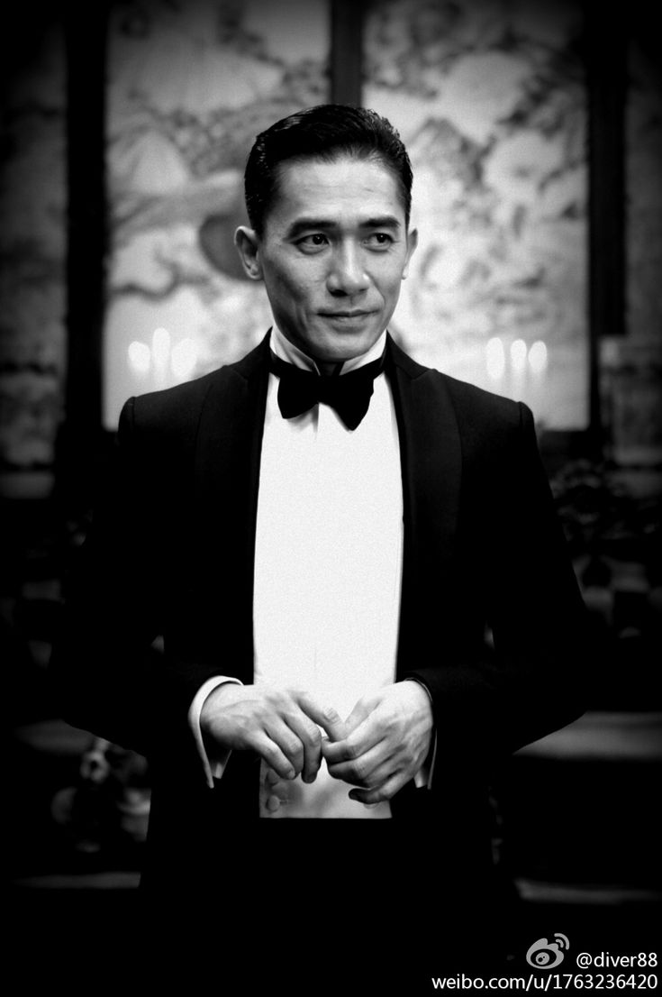 Tony Leung man who lead men's style in Asia not you Kpop idols