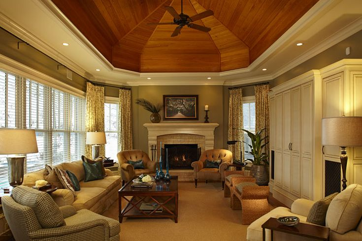 Pics Of Lake House Living Rooms