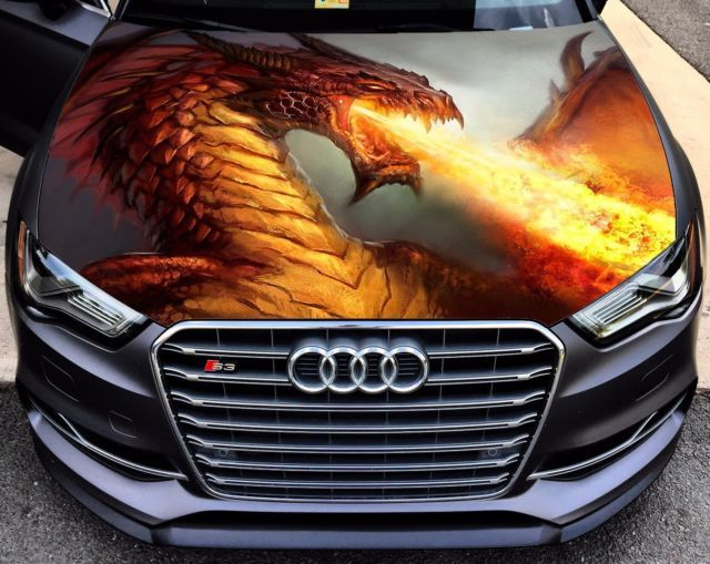 Best Jeep Ideas Images On Pinterest Hoods Jeep And Vinyls - Custom vinyl decals for car hoodsowl full color graphics adhesive vinyl sticker fit any car hood