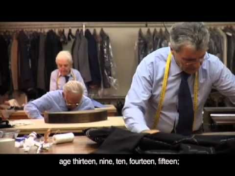 "Tailoring, the Neapolitan Way: Check out this great trailer for the ""O'Mast"" movie about the Neapolitan tailors."