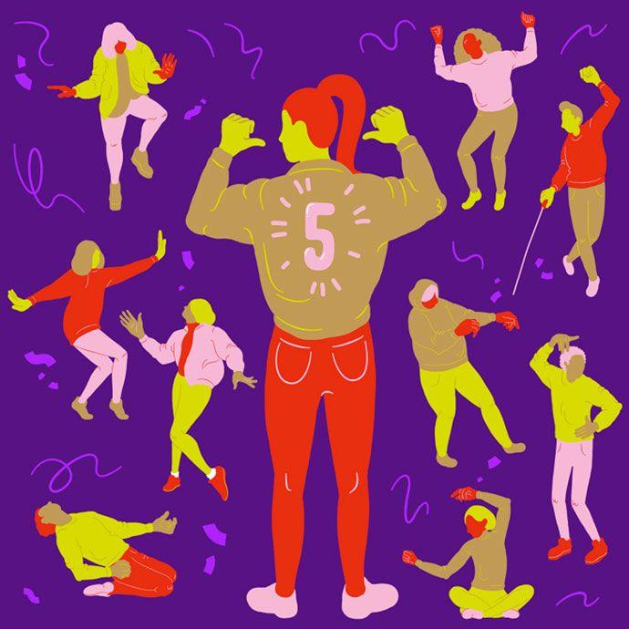 Playful feminist and societal illustrations by Sara Andreasson | Partfaliaz